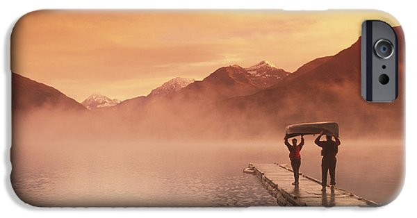 Walking On Dock Robe Lake  Sunrise Sc IPhone 6s Case by Michael DeYoung