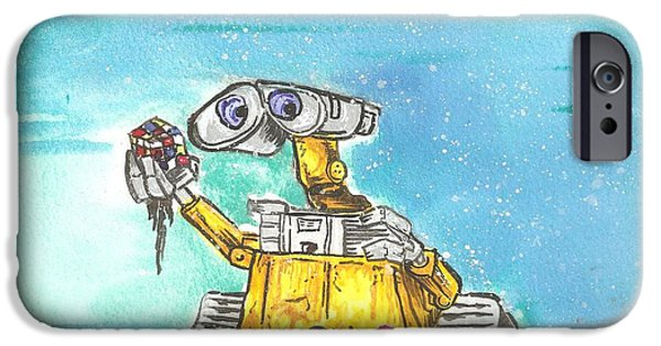 Wall-e IPhone Case by Brian Typhair