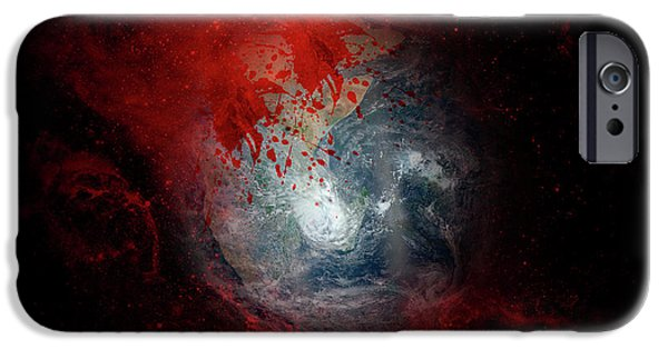 War IPhone Case by Carol & Mike Werner