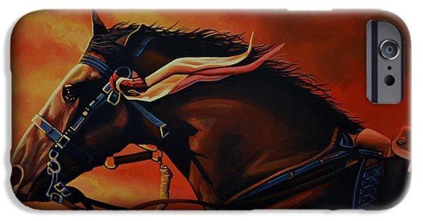 War Horse Joey  IPhone Case by Paul Meijering