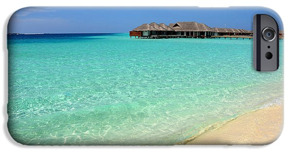 Warm Welcoming. Maldives IPhone Case by Jenny Rainbow
