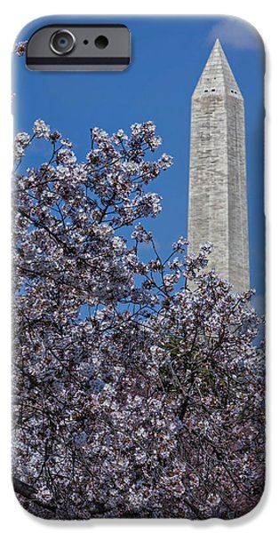 Washington Monument IPhone Case by Susan Candelario