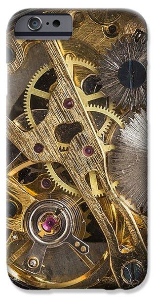 Watch Gears Phone Case Aspect IPhone Case by Edward Fielding