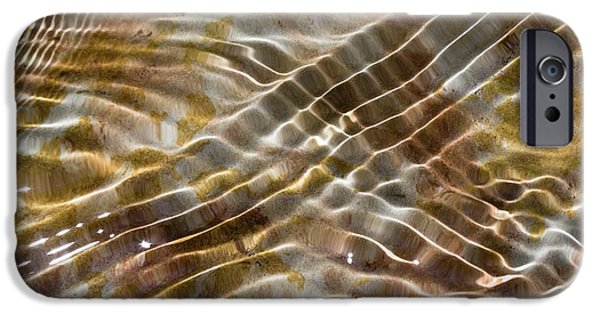 Water Ripples IPhone Case by Dr Juerg Alean