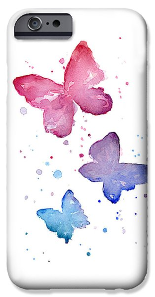 Watercolor Butterflies IPhone 6s Case by Olga Shvartsur