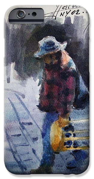 Watercolor Sketch IPhone 6s Case by Ylli Haruni