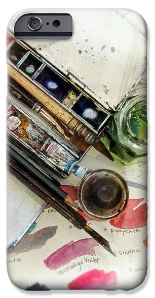 Watercolors IPhone Case by Jill Battaglia