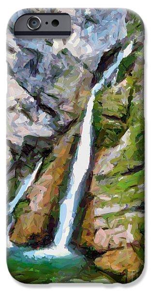Waterfall Savica IPhone Case by Dragica  Micki Fortuna