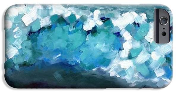 Wave Emotion On The Wild Atlantic Way Of Western Ireland IPhone Case by Catherine Considine