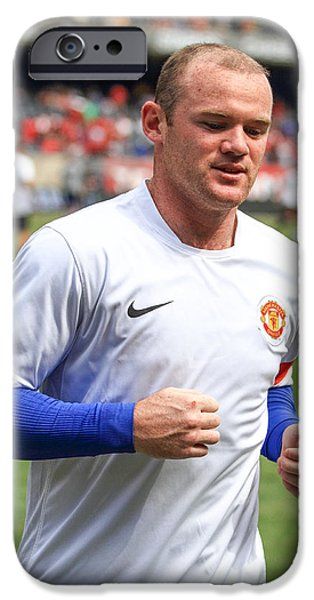 Wayne Rooney 5 IPhone 6s Case by Keith R Crowley