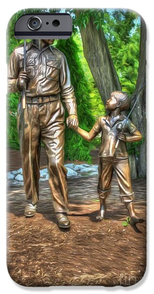 Welcome To Mayberry IPhone Case by Dan Stone