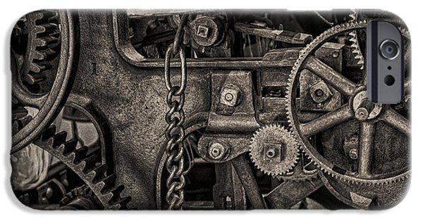 Welcome To The Machine IPhone Case by Erik Brede