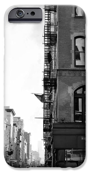 West 23rd Street Bw IPhone Case by Laura Fasulo