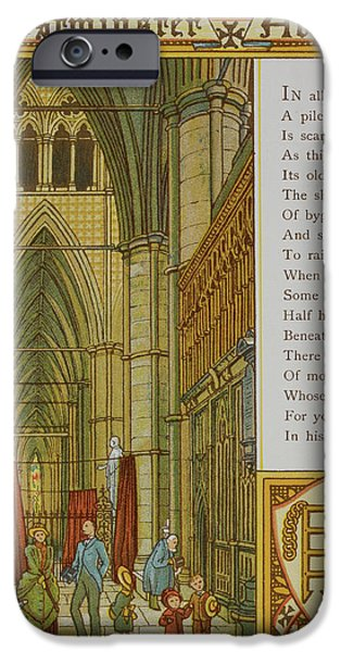 Westminster Abbey IPhone 6s Case by British Library