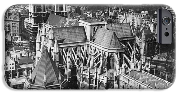 Westminster Abbey In London IPhone 6s Case by Underwood Archives
