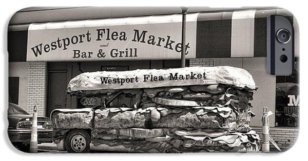 Westport Flea Market IPhone Case by Crystal Nederman