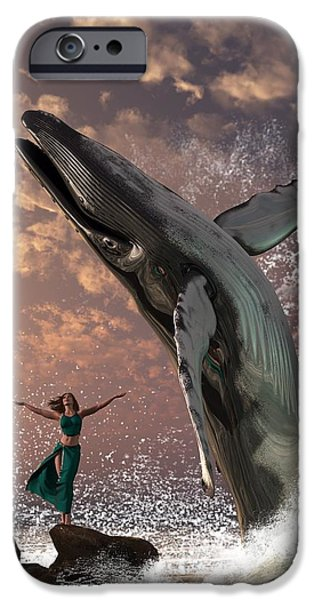 Whale Watcher IPhone 6s Case by Daniel Eskridge