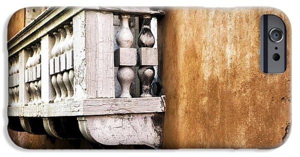 White Balcony In Venice IPhone 6s Case by John Rizzuto