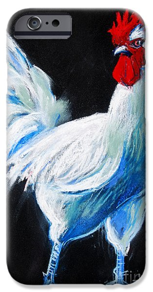 White Chicken IPhone 6s Case by Mona Edulesco