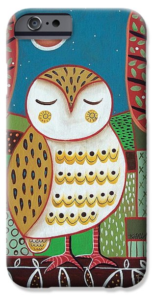 White Owl IPhone 6s Case by Karla Gerard