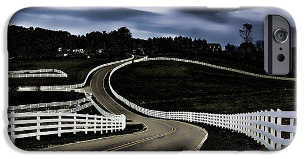 White Running Fence II IPhone Case by Dan Carmichael
