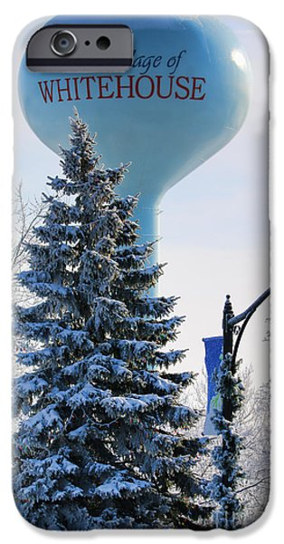 Whitehouse Water Tower  7361 IPhone 6s Case by Jack Schultz