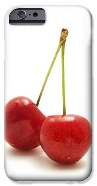 Wild Cherry IPhone Case by Fabrizio Troiani