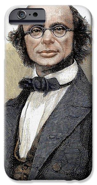 Wilhelm Eduard Weber (wittenberg, 1804 IPhone Case by Prisma Archivo