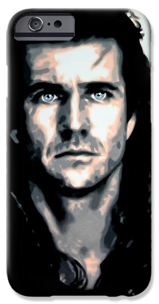 Will Wallace 2013 IPhone Case by Luis Ludzska
