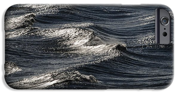 Wind Swept Waves IPhone Case by Marty Saccone