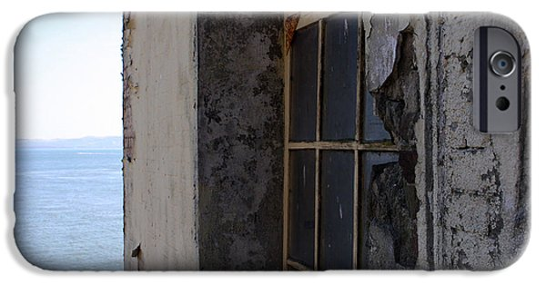 Window On Alcatraz IPhone Case by Ty Helbach