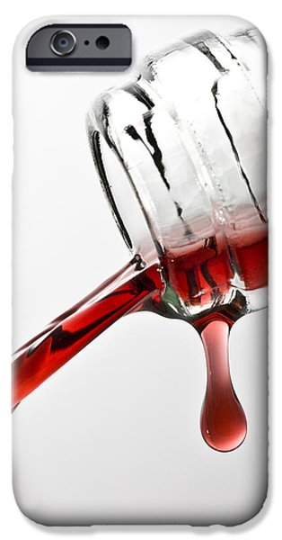 Wine Pour IPhone Case by Frank Tschakert