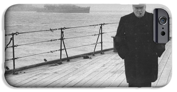Winston Churchill IPhone Case by English Photographer