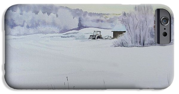 Winter Blanket IPhone Case by Martin Howard