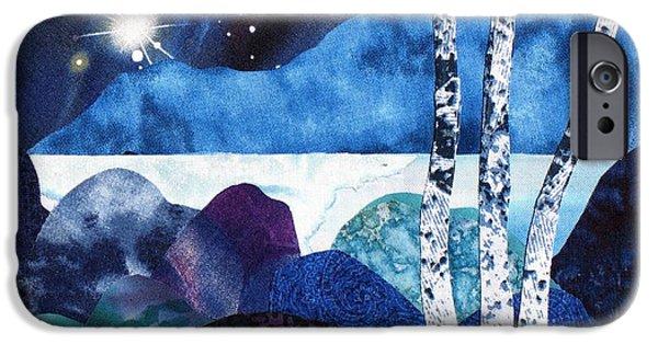 Winter Moon 2 IPhone Case by Susan Minier