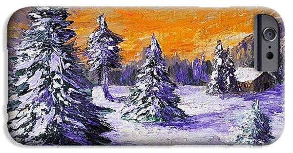 Winter Outlook IPhone Case by Anastasiya Malakhova