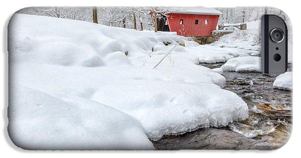 Winter Stream IPhone Case by Bill Wakeley