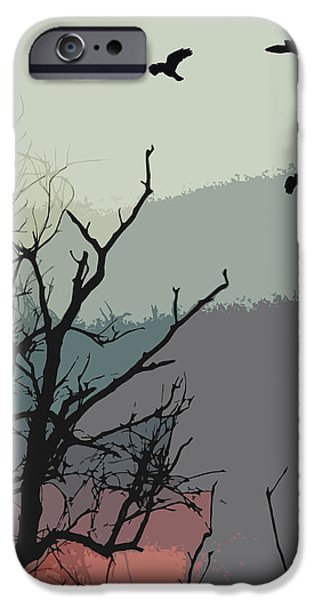 Winters Calling IPhone Case by Sharon Lisa Clarke