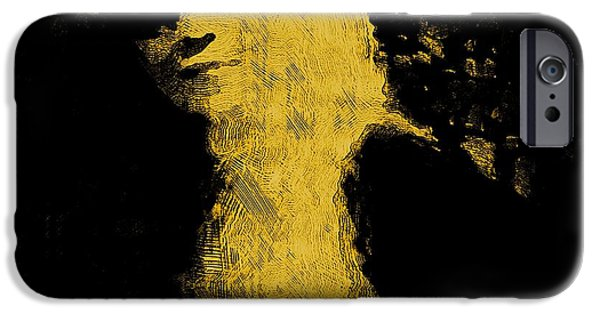 Woman In The Dark IPhone Case by Pepita Selles