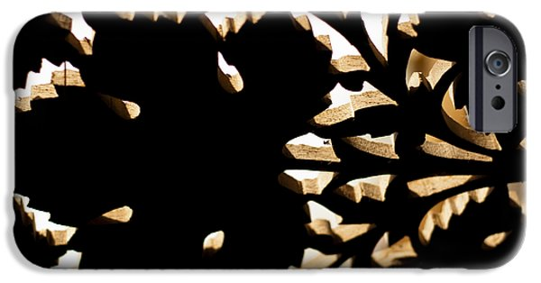 Wood Work IPhone Case by Christi Kraft