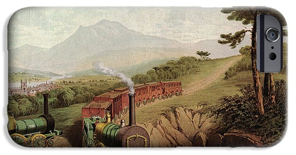 Wooden-railed Railway IPhone Case by Cci Archives