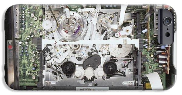 Workings Of Video Cassette Recorder IPhone Case by Dorling Kindersley/uig
