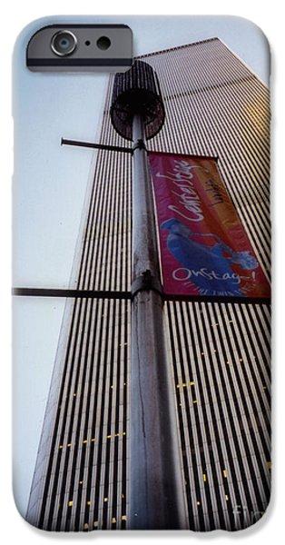 World Trade Center 1971-2001 IPhone Case by Nishanth Gopinathan