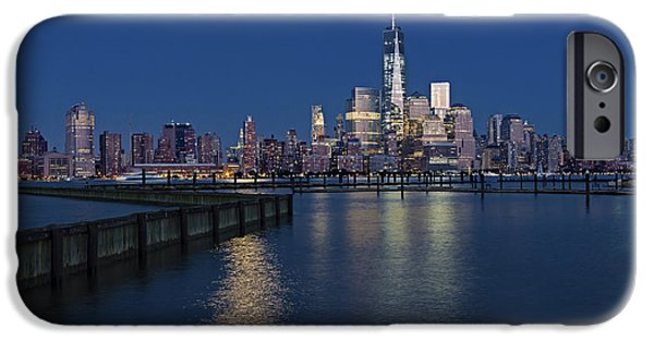 World Trade Center Super Moon IPhone Case by Susan Candelario