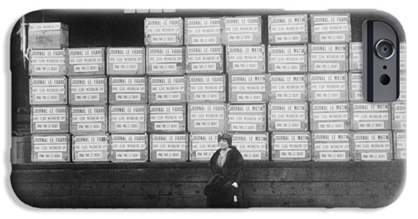 World War I Cigarette Shipment IPhone Case by Library Of Congress