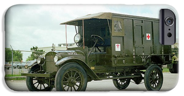 World War I Field Ambulance IPhone Case by Us Army
