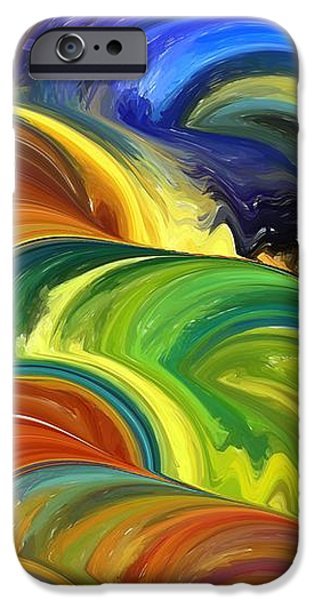 Wormhole IPhone Case by Chris Butler