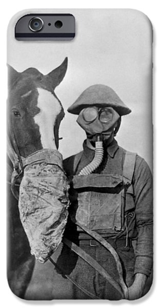 Wwi Gas Masks IPhone Case by Otis Historical Archives, National Museum Of Health And Medicine