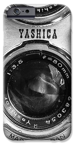 Yashica 635 - Front Detail IPhone Case by Jon Woodhams