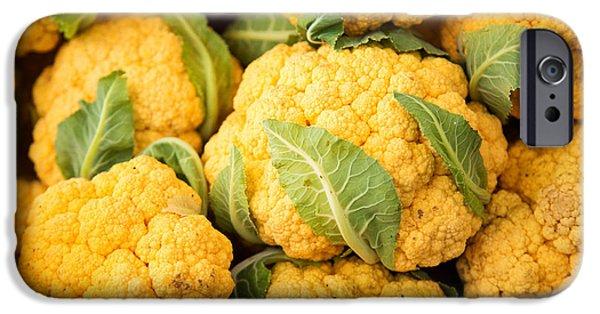 Yellow Cauliflower IPhone 6s Case by Rebecca Cozart